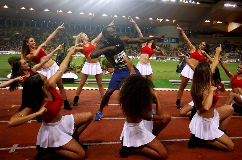 La légende Bolt a marqué l'édition 2017.