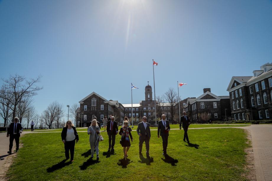 La délégation monégasque a découvert l'université de Dalhousie, à l'Est du pays.