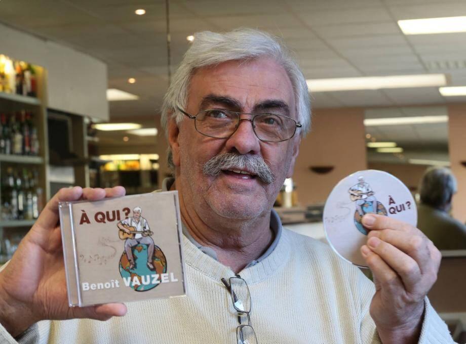 Benoûit Vauzel interprétera notamment les titres de son dernier album : « À qui ? », ainsi que les standards en français.