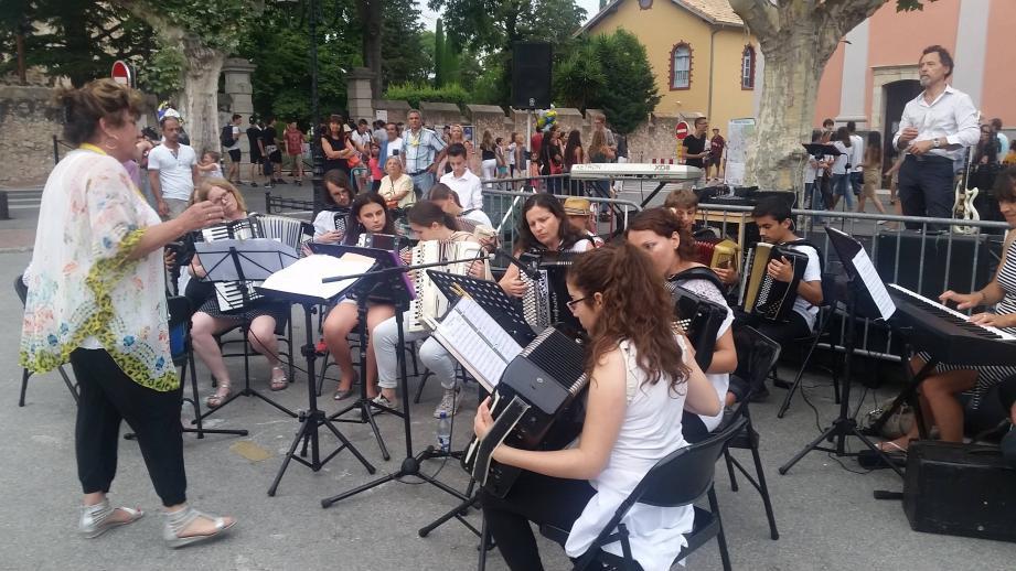 L'école de musique Lucien Galliano animera les grands rendez-vous musicaux. (photo D.G.)