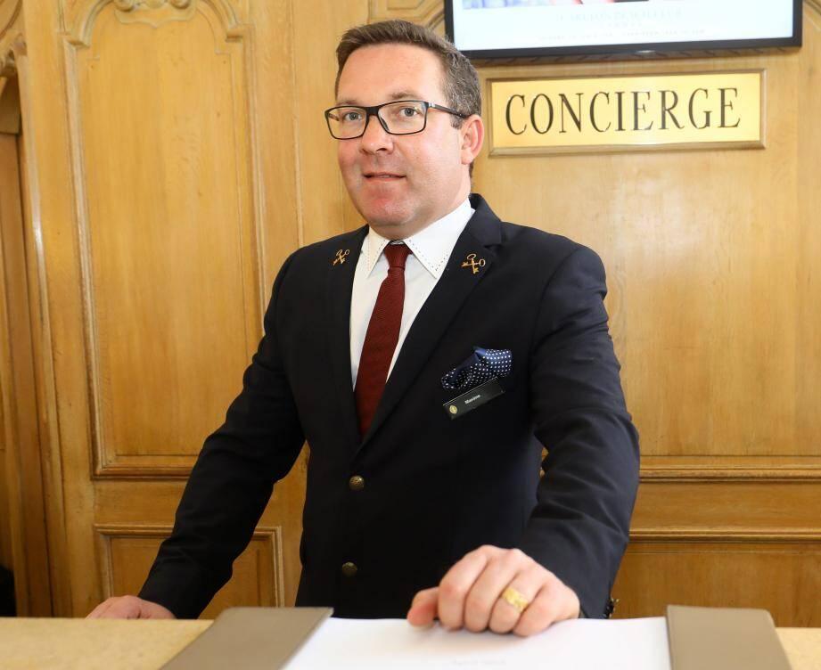 Maxime Nerkowski est aussi le président des clés d'or de la Côte d'Azur.