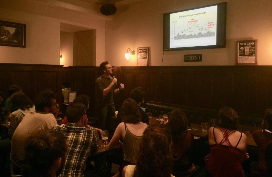 Cette année, le festival « Pint of science » offre sa deuxième tournée dans quatre bars de Nice.(D. R.)