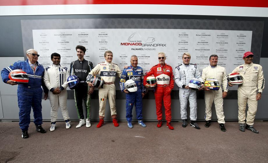 Ces neuf pilotes de Formule 1 sont quelques-uns des grands noms qui font l'Histoire de la course automobile.