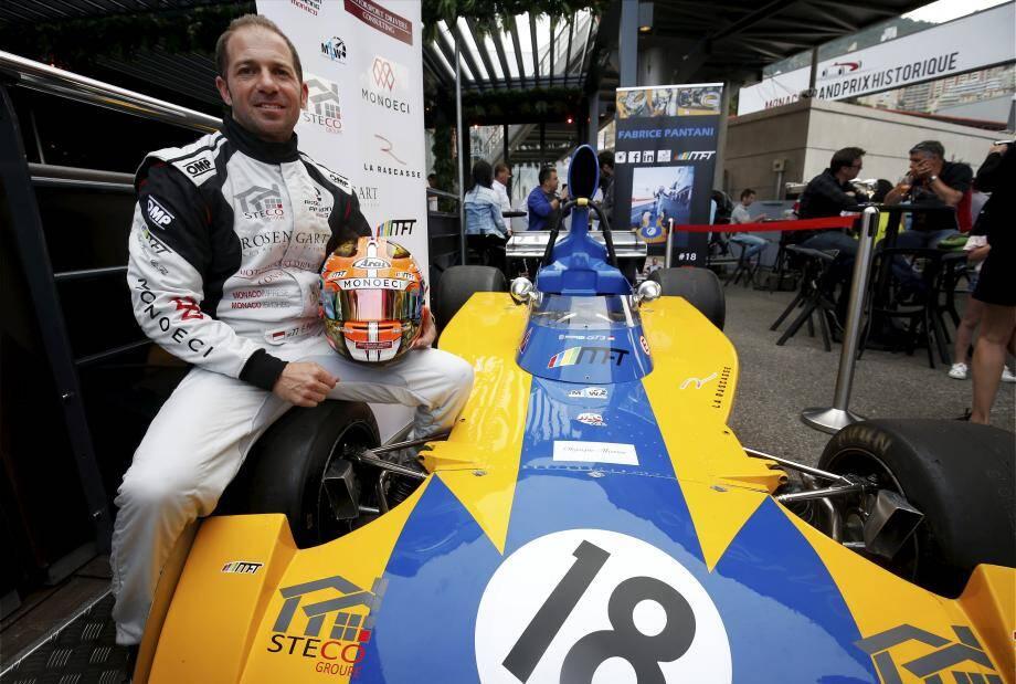 Fabrice Pantani a présenté à la Rascasse la voiture qui, espère-t-il en tout cas, pourrait bien le faire gagner lors de cette 11e édition.