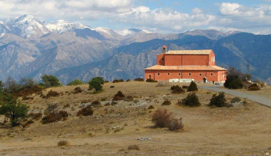 Le sanctuaire de la Madone.