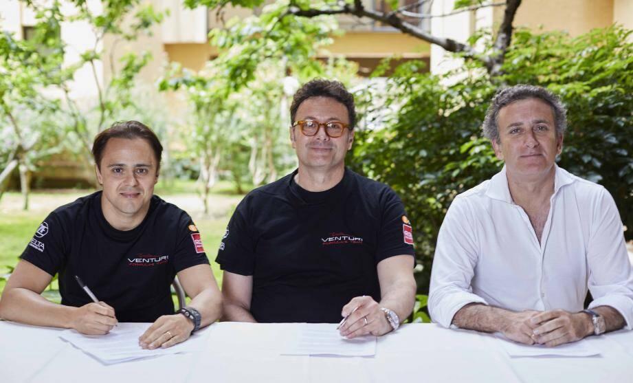 Gildo Pastor et son Team entendent faire de Felipe Massa « la pierre angulaire du déploiement de Venturi ».