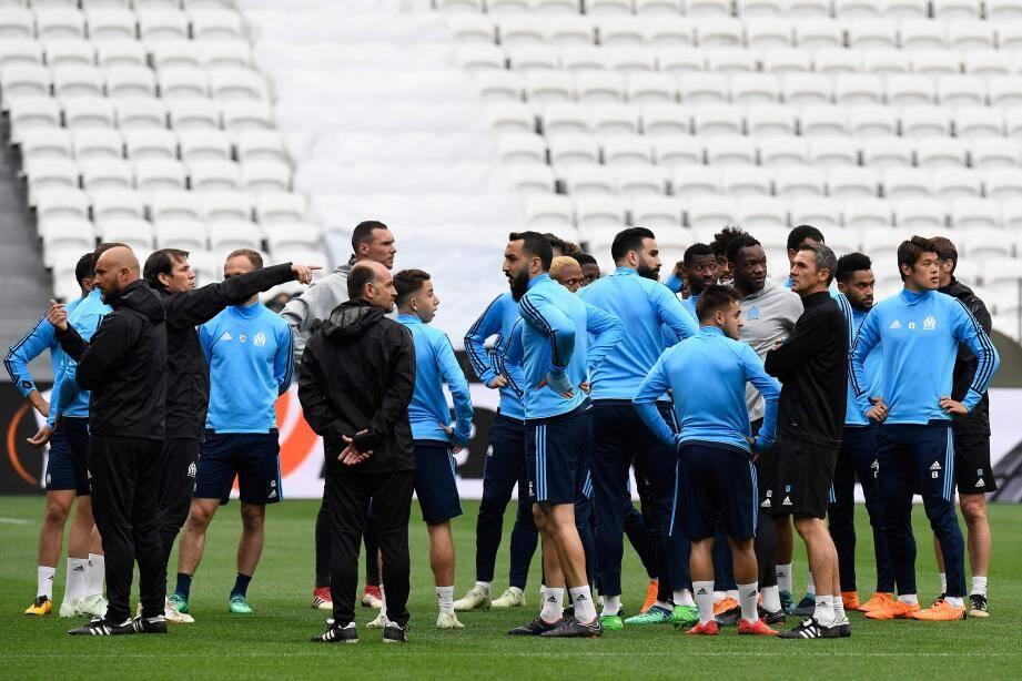 Du rêve à la réalité, il y a un match qu'il va falloir gagner, contre l'Atlético Madrid...