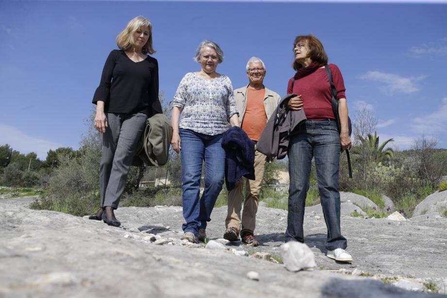 Les naturalistes amateurs de l'association de Sauvegarde des lauves de Tourrettes sont soutenus par des scientifiques de renom.