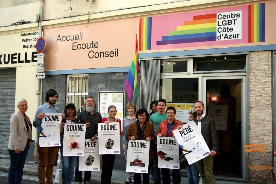 La nouvelle campagne nationale de lutte contre les discriminations a été lancée, hier, au centre LGBT Côte d'Azur de Nice.