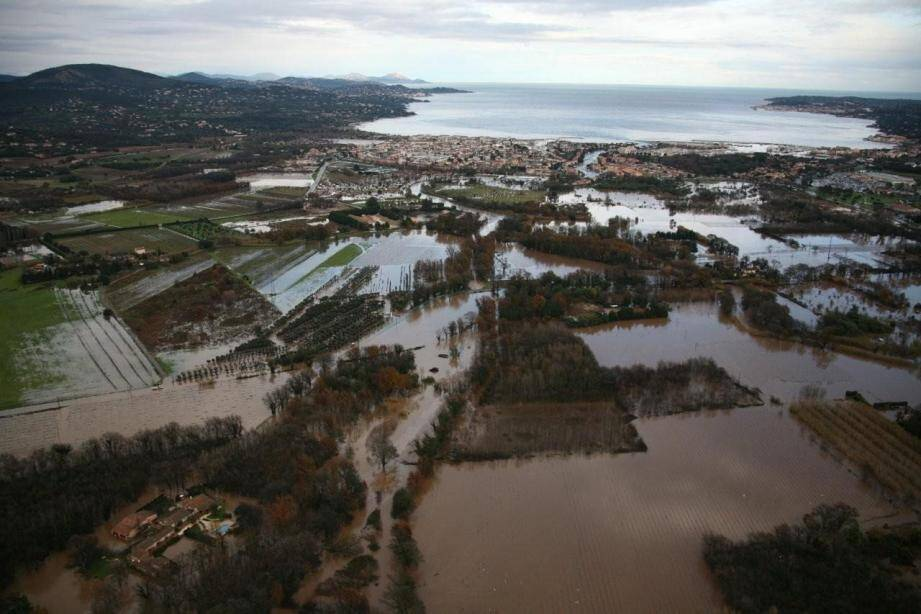 Les images des inondations sont toujours spectaculaires...
