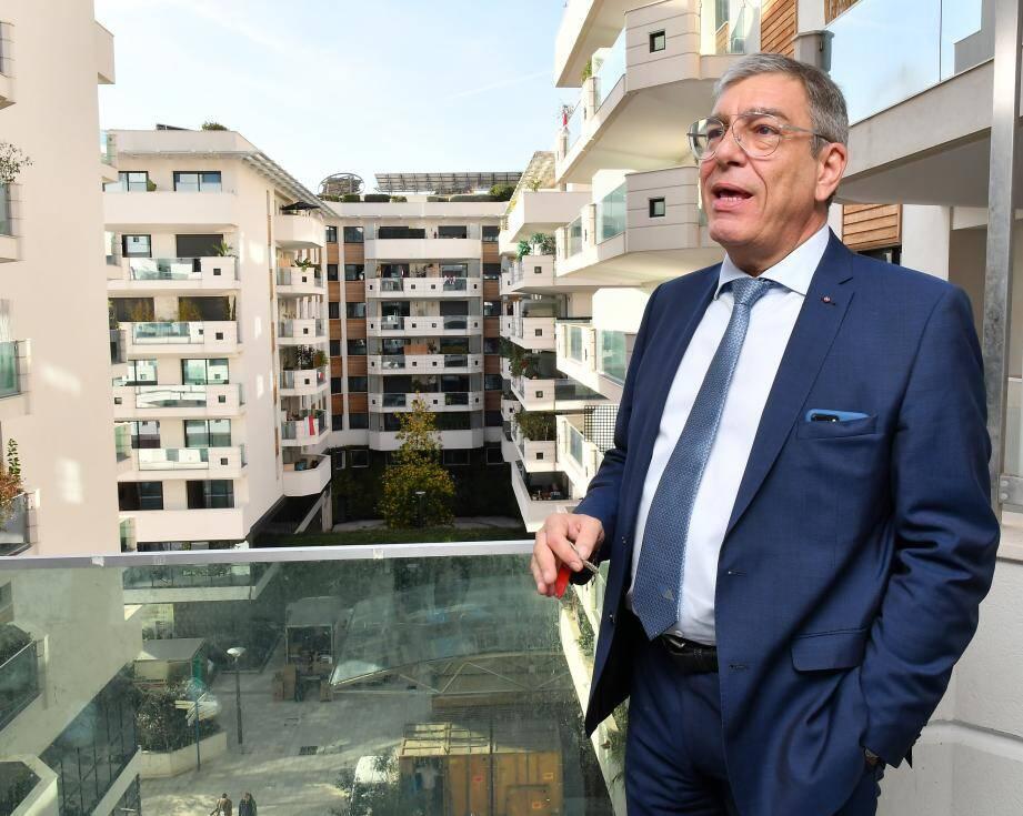 Albert Croési, « Monsieur Apolline » depuis juin 2017.