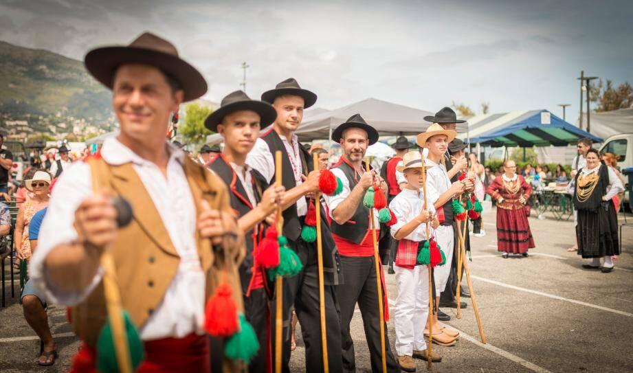 Le folklore portugais sera à l'honneur ce week-end à Roquebrune. (Archive L.B.)