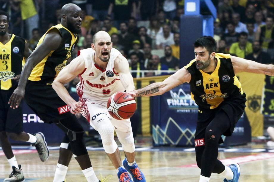 Sergii Gladyr n'a pas pu empêcher la défaite de son équipe.