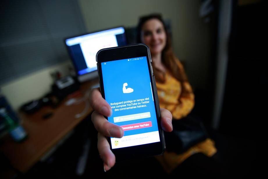 L'application bodyguard pour lutter contre le harcèlement en ligne.