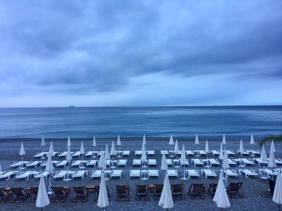 Temps nuageux prévu sur la Côte d'Azur.