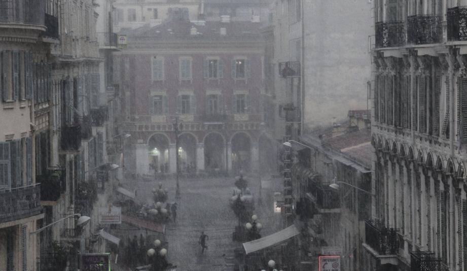 Risque de grêle aujourd'hui sur la Côte d'Azur