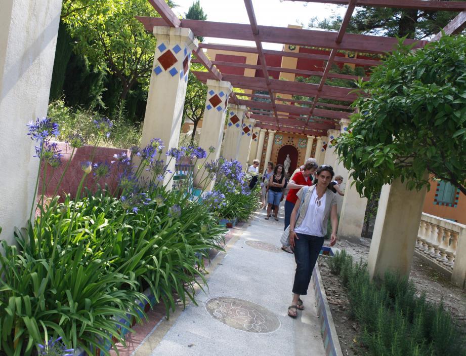 Ce week-end, le jardin Fontana Rosa propose des visistes guidées, une exposition mais aussi un spectacle et une soirée espagnole dans le cadre des «Rendez-vous aux jardins».