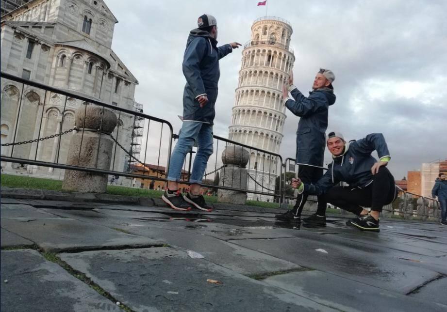 Ces trois étudiants niçois ont rallié Amsterdam à pied depuis Rome, sans autre ressource que des canettes de Red Bull.