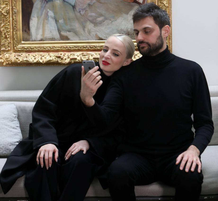 Madame Monsieur nous ont reçu à Paris quelques jours avant la finale de l'Eurovision à Lisbonne.