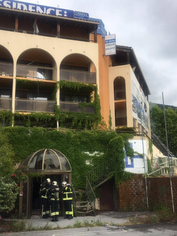 Les pompiers sont intervenus pour un feu de matelas dans cet hôtel inoccupé et squatté.