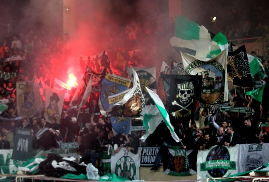 Les supporters stéphanois pourraient braver en nombre leur interdiction de déplacement dans les Alpes-Maritimes et à Monaco.