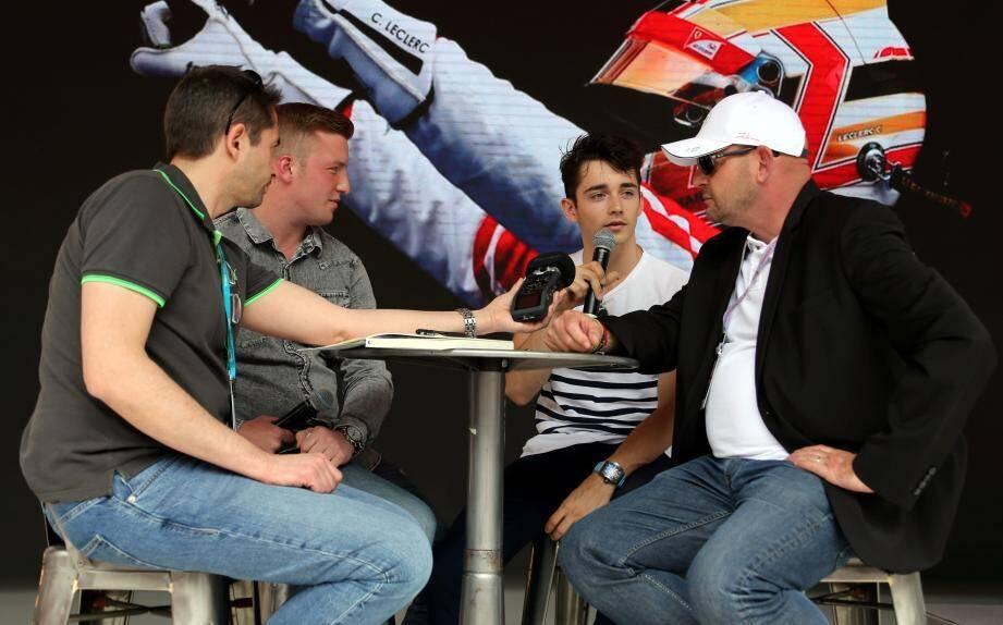 """Philippe Bianchi : """"Charles (Leclerc) était le protégé de Jules (Bianchi)."""