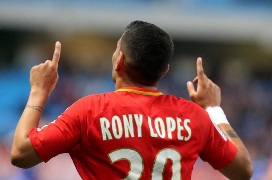Rony Lopes a marqué un doublé.