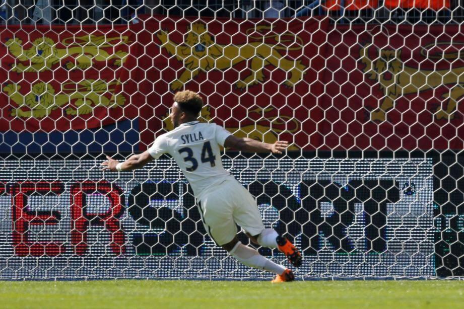 Moussa Sylla a réalisé un grand match pour sa première titularisation avec l'AS Monaco.