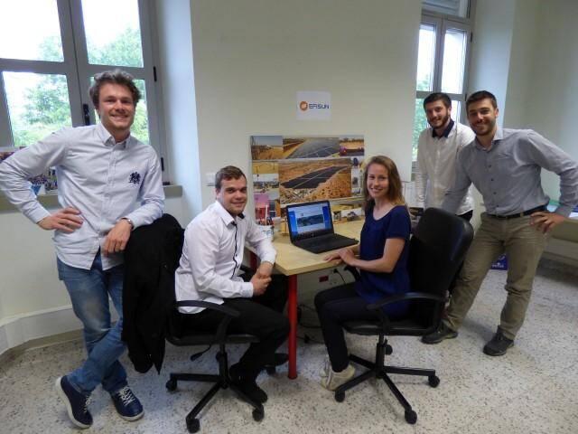 Depuis sa création par Yvan Guerra (à droite) et Maxime Rohmer (à gauche), l'entreprise est passée à six personnes, développée sur un modèle social mettant en avant les compétences de chacun.