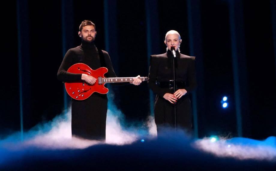 Madame Monsieur finit 13e de l'Eurovision 2018.