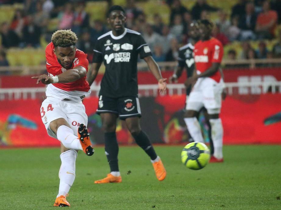 Moussa Sylla contre Amiens.