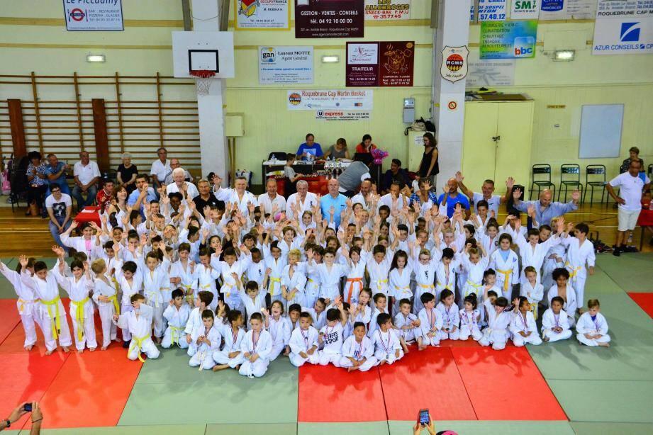 Plus de 200 participants pour l'Open de judo Serge-Bruzat. (DR)
