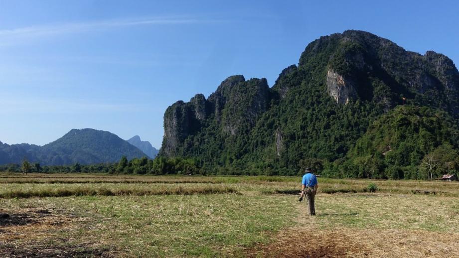 Image bien représentative des paysages agricoles du Laos.(DR)