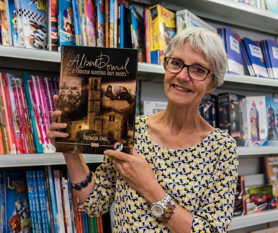 Patricia Civel a présenté son premier ouvrage à la librairie «Les Mandarins».