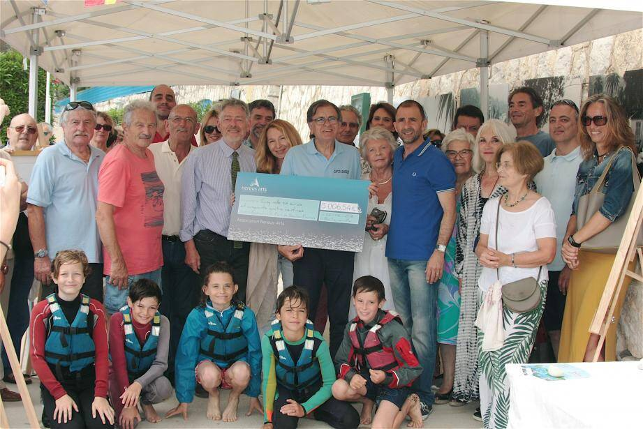 Ce jour de fête a réuni les élus, les associations et les amis du port des Fourmis.