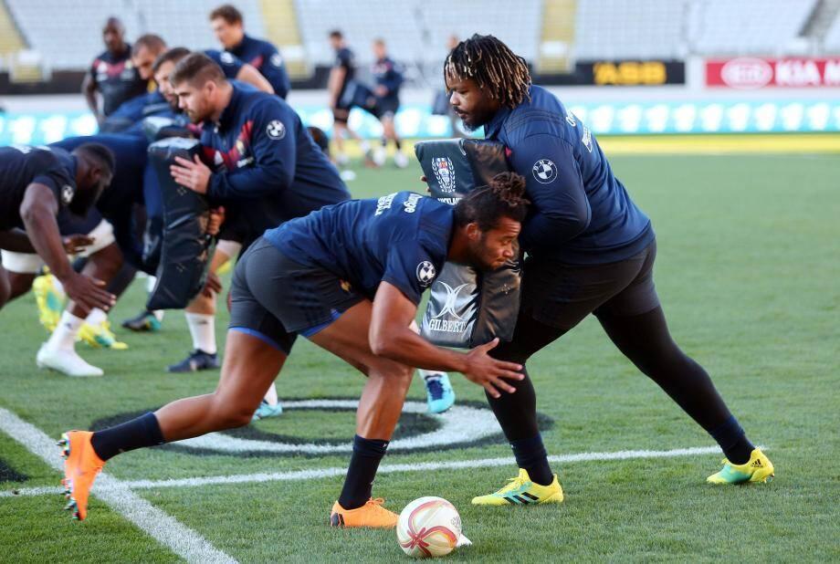 Thomas et Bastareaud, prêts pour le choc face aux All Blacks.