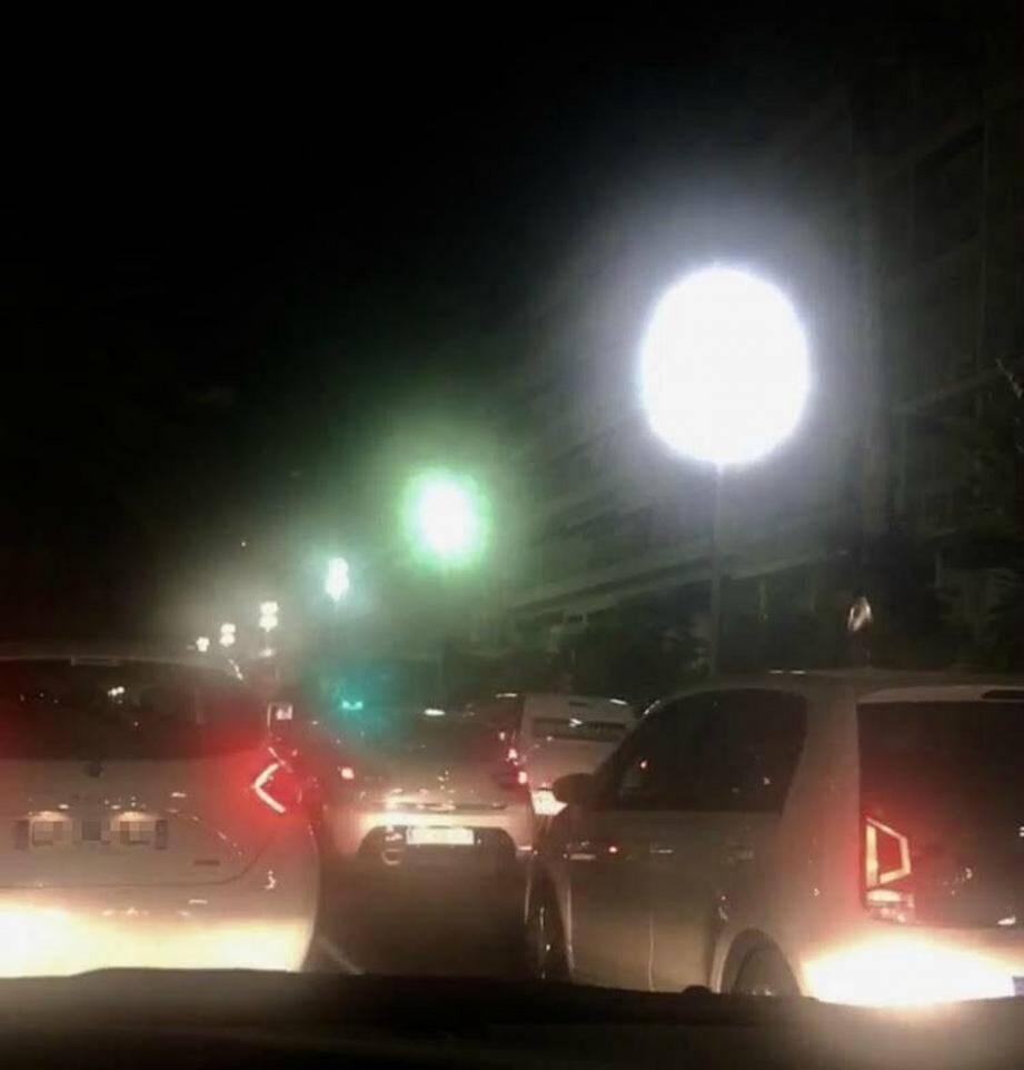 Jeudi soir sur la Prom', des centaines d'automobilistes pris dans la nasse.