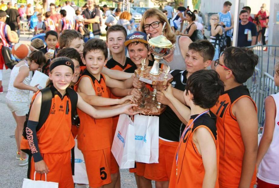 Les U11 ont réussi le triplé championnat du Var, coupe du Var et championnat PACA.
