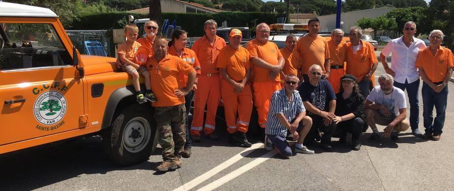 Les bénévoles du CCFF ont répété leurs gammes samedi dernier, ils seront une nouvelle fois sur le terrain pour repérer les départs de feu.