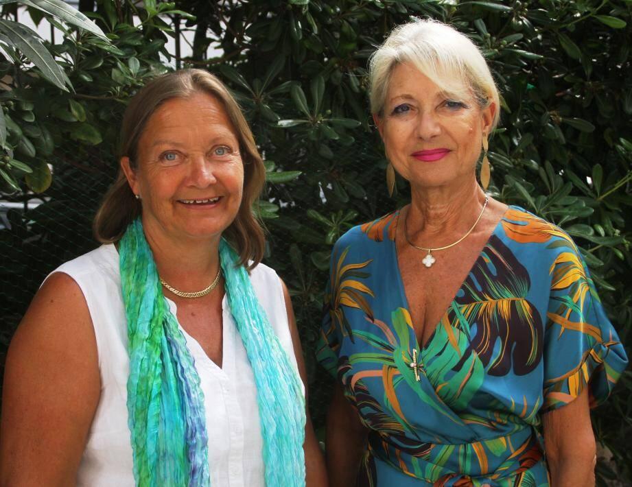 Camilla Tranberg (présidente) et Françoise Villiers.