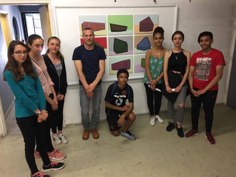 Parmi les œuvres choisis, les élèves ont craqué pour Wunderblock de Gilles Pourtier0.