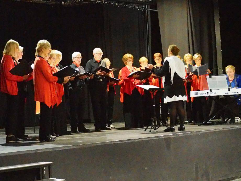 La chorale donnera un concert à 17 h en l'église Saint-Pierre du Brusc.