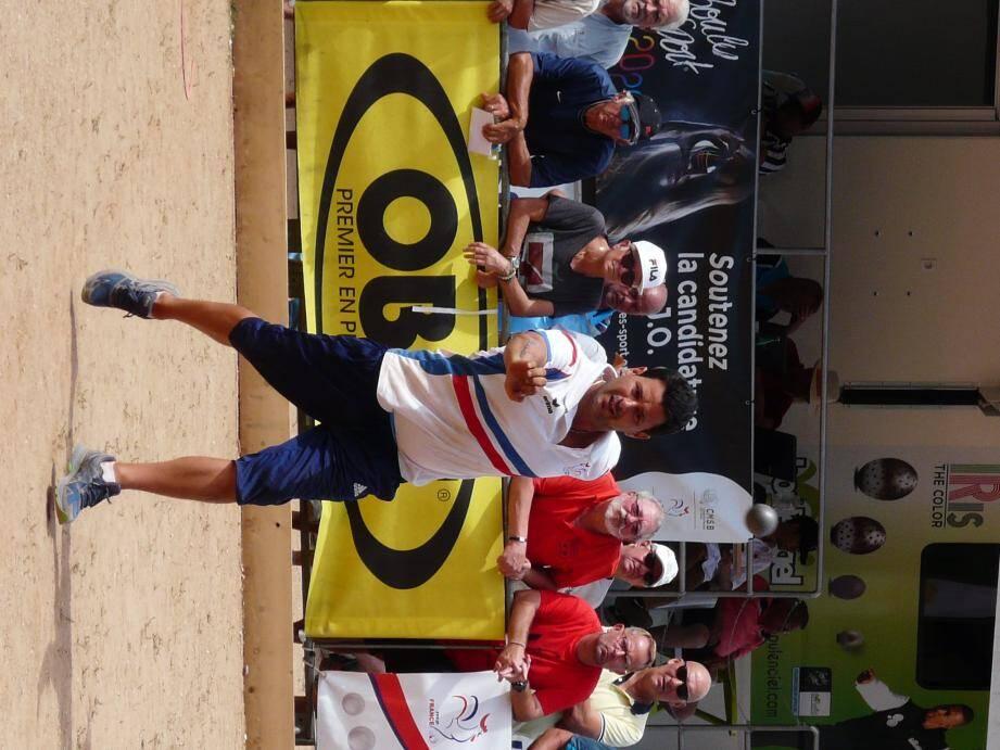 Mickaël Martini et ses associés champions de France défendront chèrement leur titre.