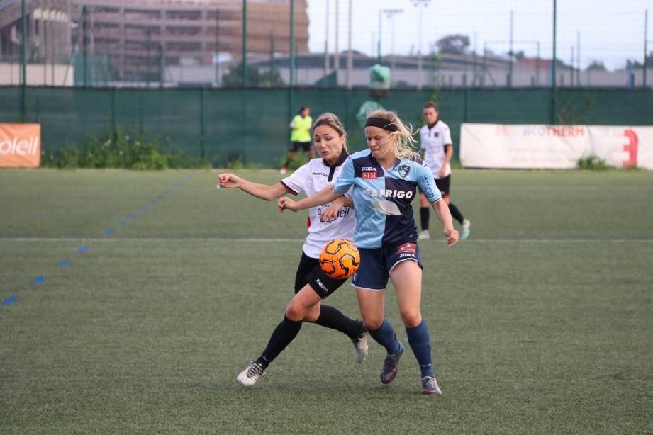 Alexandra Moziyan et les Niçoises ne sont plus qu'à un match d'une montée en D2.