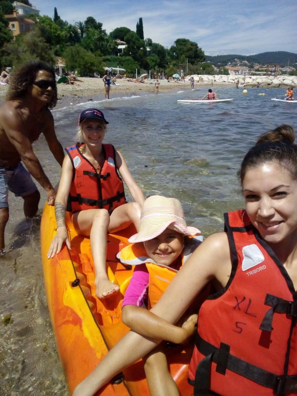 L'école de voile vous permet de découvrir, entre autres, le paddle.