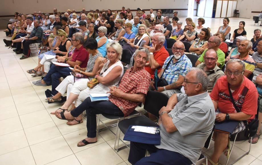 Plus de 80 associations étaient présentes dans la salle Yann-Piat.