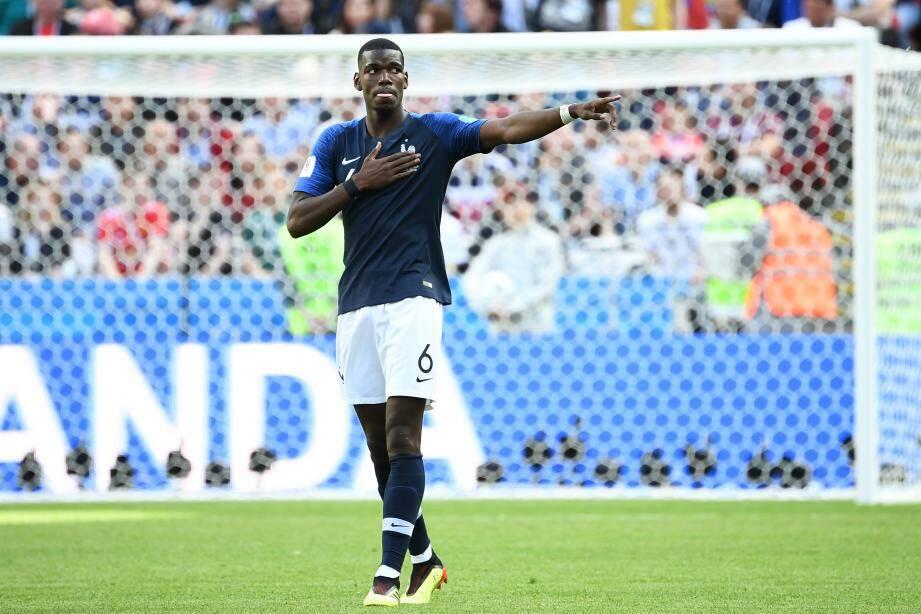 Auteur du but de la victoire contre l'Australie, hier, Paul Pogba a sauvé la maison France pour ce premier match.