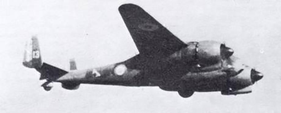 Un Breguet 693 en vol.