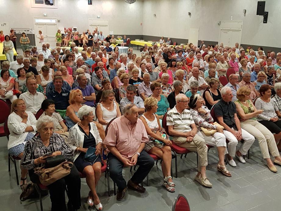 233 adhérents lors de l'assemblée générale, un rêve que caressent nombre d'associations.
