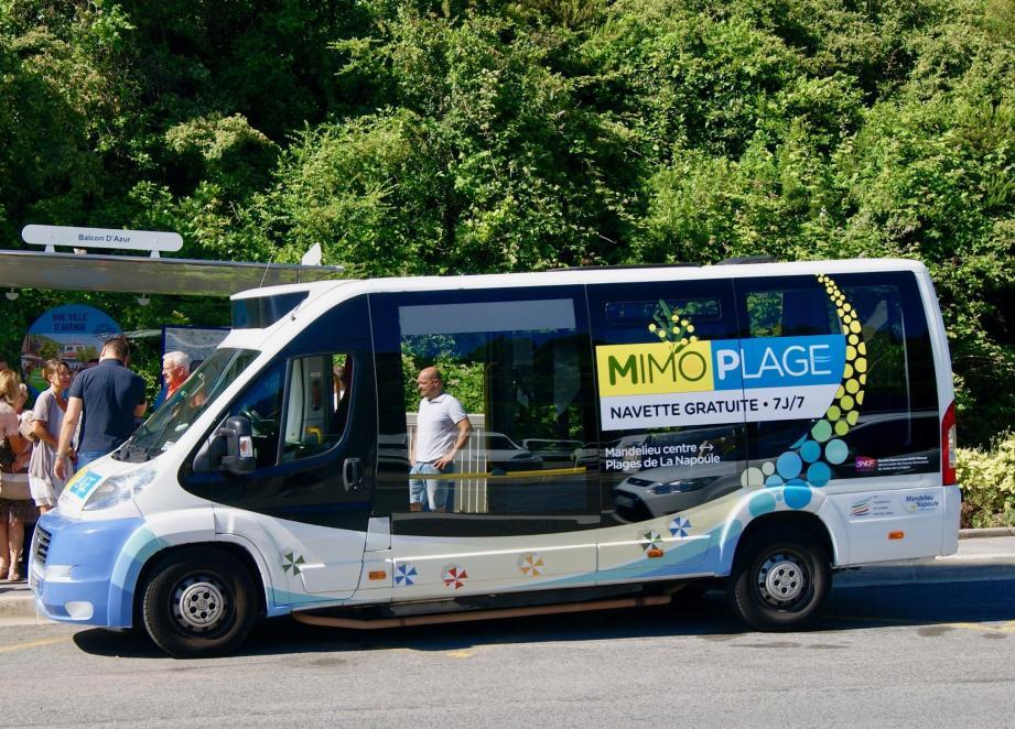 Mimoplage fonctionnera tous les jours du 16 juin au 16 septembre inclus, y compris le dimanche et les jours fériés.